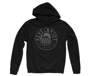 Revel & Riot emblem hoodie