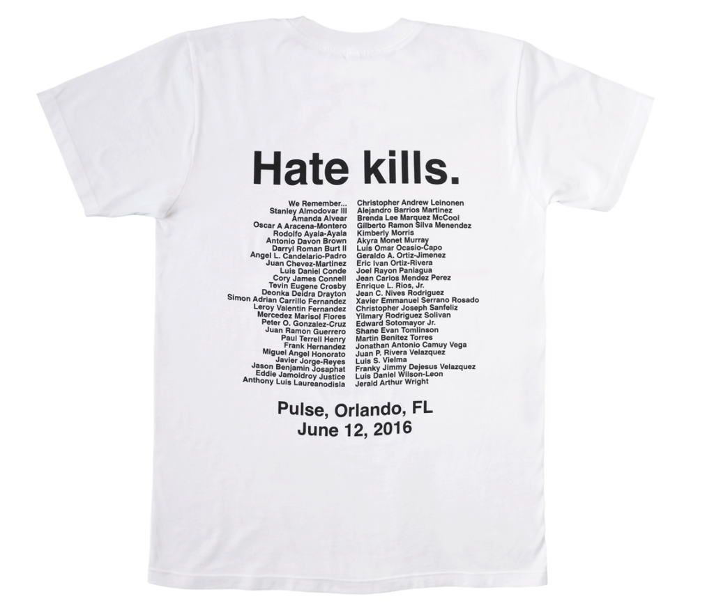 Orlando Pulse t-shirt