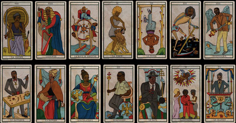 black power tarot cards