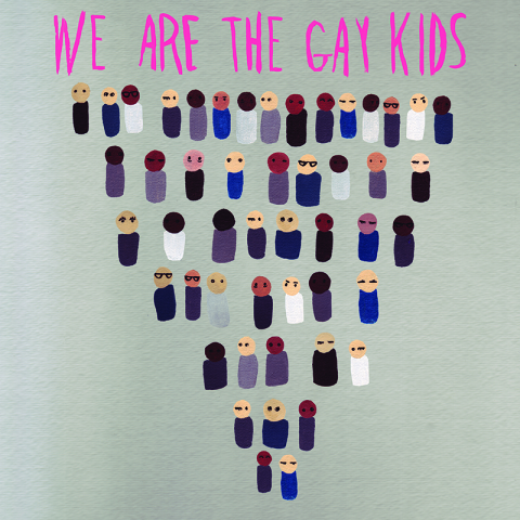 we are the gay kid