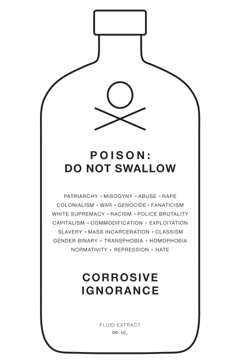 Poison Bottle - Corrosive Ignorance