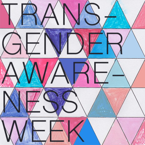 transgender awareness week graphic