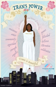 transgender day of resilience poster